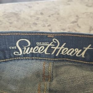 """Old Navy """"the Sweetheart"""" style jeans"""